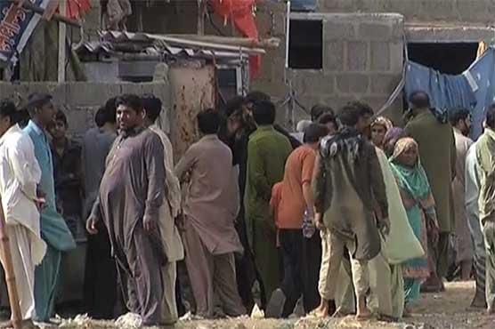Anti-encroachment drive along nullahs in Karachi begins