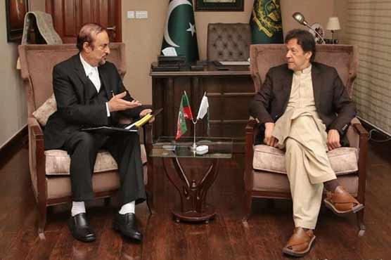 Babar Awan calls on PM Imran, discusses FATF legislation