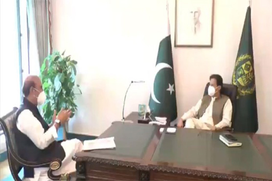 Babar Awan briefs PM Imran on legal options to bring back Nawaz Sharif
