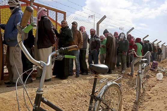 UN detects virus cases in Syrian refugee camp in Jordan