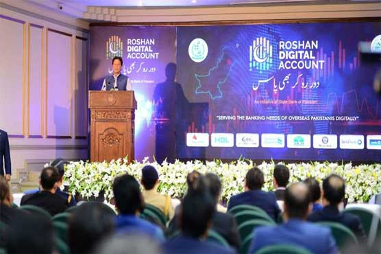 PM launches Roshan Digital Account for overseas Pakistanis