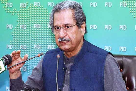 Educational institutions violating SOPs will be closed, warns Shafqat Mahmood