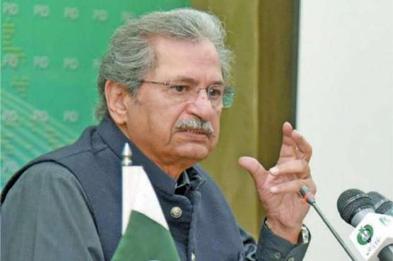 Health of students govt's top priority: Shafqat Mahmood