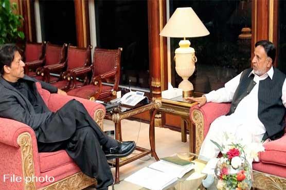 Provincial Minister Mahmood ur Rashid calls on PM Imran Khan