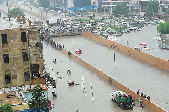 'Freak events': Karachi floods hint at shifting monsoon