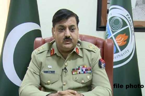 NDMA to set up flood relief centers in interior Sindh: Lt. General Afzal