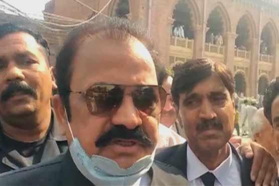 Fazlur Rehman summons proves govt is being run through NAB: Rana Sanaullah