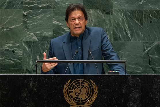 PM Imran to address UN General Assembly via video link today