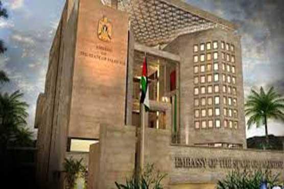 Palestinian embassy appreciates PM Khan for advocating Palestine cause
