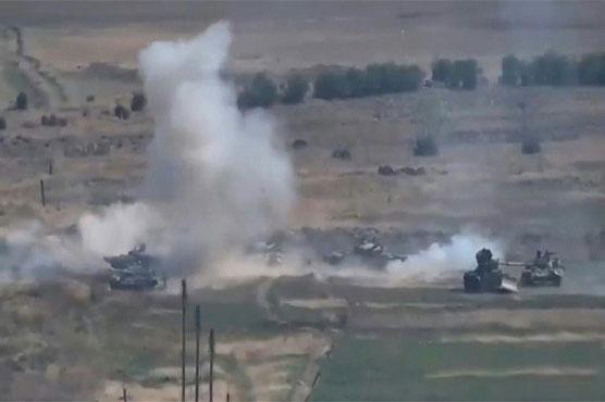Dozens dead as world leaders call for halt to Karabakh flare-up