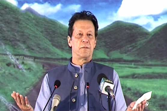 Party elected from interior-Sindh did nothing for Karachi: PM Imran