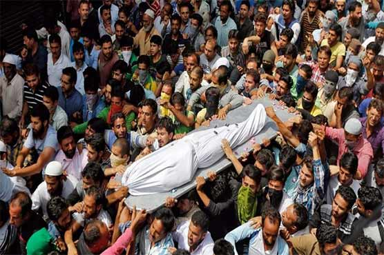 Indian troops martyr 11 Kashmiris in March