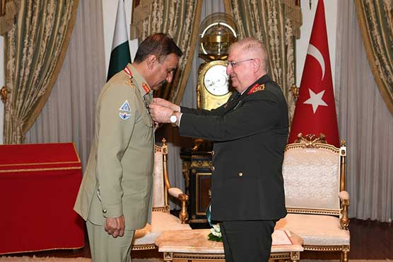 CJCSC awarded Turkey's highest military award