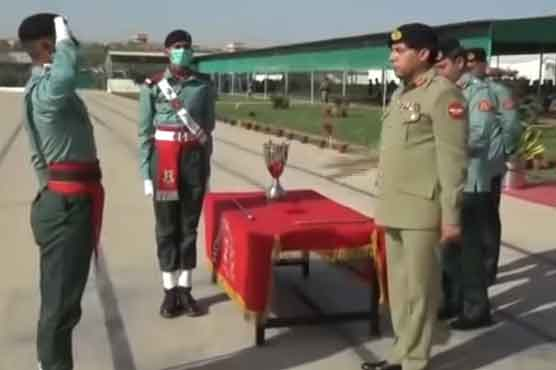 Corps Commander Karachi lauds role of Rangers in maintaining law and order in the province