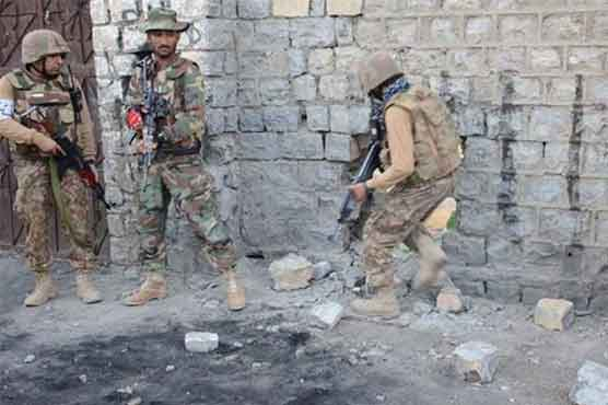 Security forces conduct operation in North Waziristan