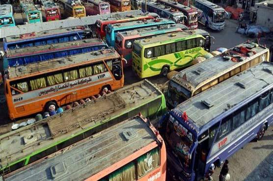 Punjab govt notifies suspension of inter-provincial public transport on weekends