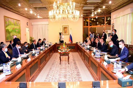 Russia vows to promote bilateral ties with Pakistan
