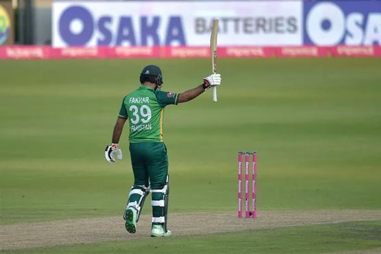 Fakhar Zaman jumps seven places to No. 12 in ODI rankings