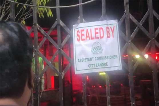 Shops, restaurants sealed in Lahore over violation of SOPs