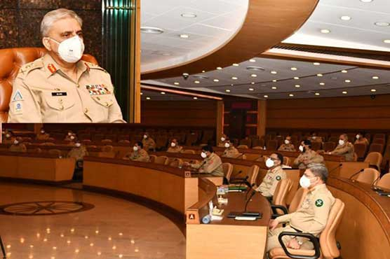 Corps Commanders Conference reaffirms Pakistan's support to Kashmiris