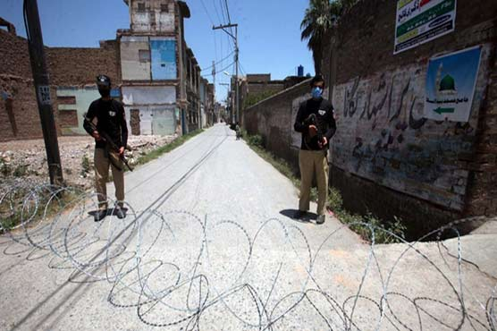 Local govt announces to impose smart lockdown in several areas in Peshawar