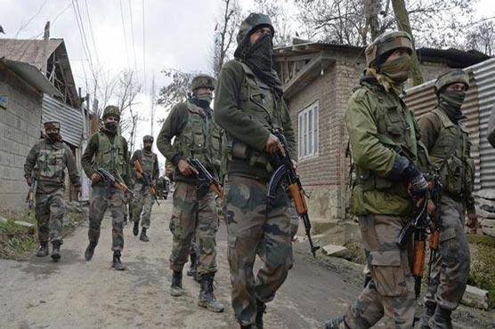 Indian troops martyr five more youth raising toll to 12 in IIOJK since Thursday
