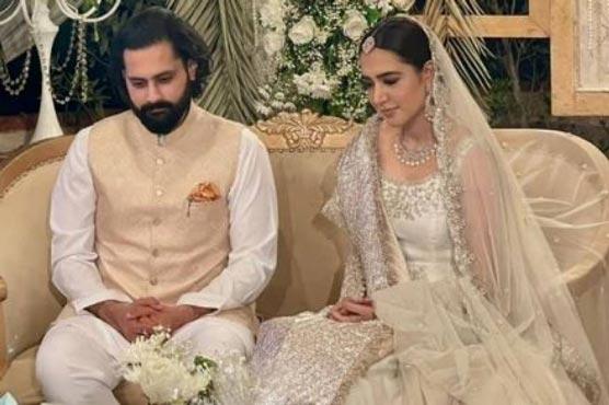 Jibran Nasir ties knot with Mansha Pasha - Entertainment - Dunya News