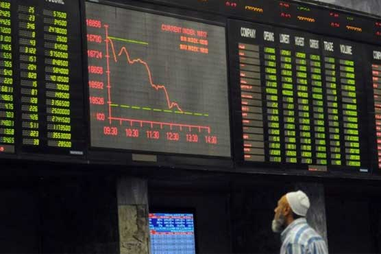 PSX loses 208.43 points to close at 44,978.05 points