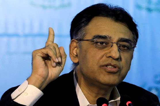 Sufficient stock of anti-COVID vaccine available: Asad Umar