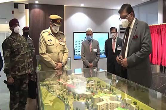 COAS General Bajwa visits Fauji Foundation headquarters in Rawalpindi