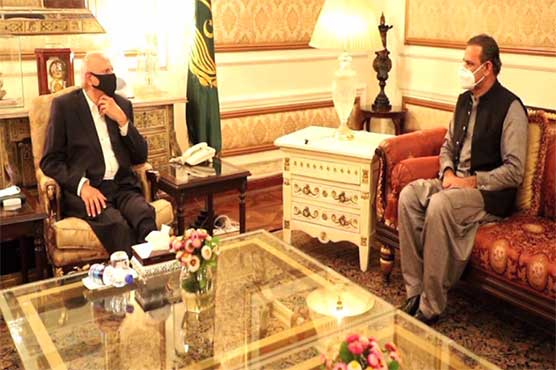 Governor Punjab, Asim Bajwa discuss ongoing CPEC projects