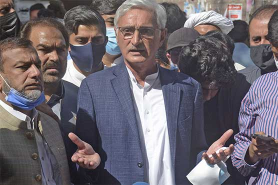 Those doing character assassination will be revealed: Jahangir Tareen