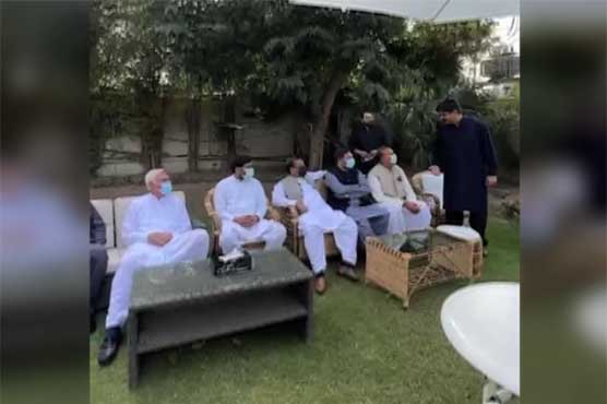 Several parliamentarians offer resignation in key meeting chaired by Jahangir Tareen