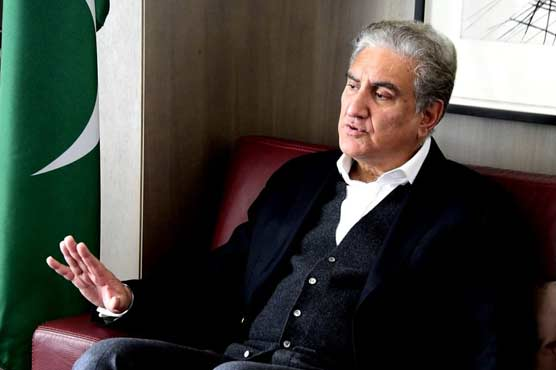 No meeting scheduled with Indian counterpart: FM Qureshi