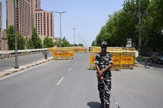 Week-long lockdown in New Delhi as virus cases soar