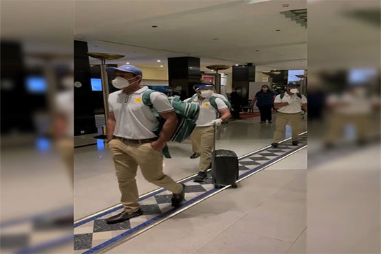 11 members of Pakistan Test team leave for Zimbabwe
