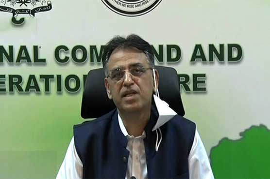 Asad Umar warns of tougher restrictions if Covid-19 SOPs not followed