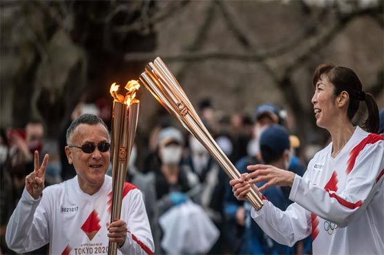 Tokyo Olympics organisers report first torch relay virus case