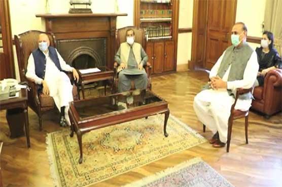 Members of Jahangir Tareen group call on Punjab governor