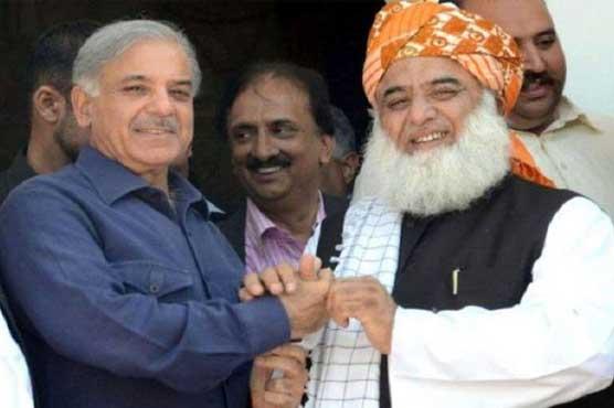 Shehbaz Sharif, Fazlur Rehman discuss political situation in telephonic conversation