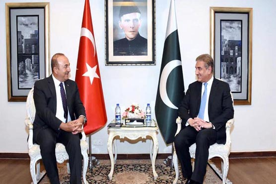 Pak-Turkey FMs discuss Afghan peace, withdrawal of foreign troops
