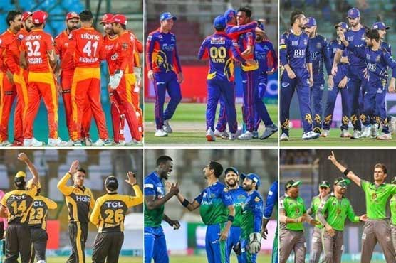 PSL 6: Draft for remaining matches to take place next week