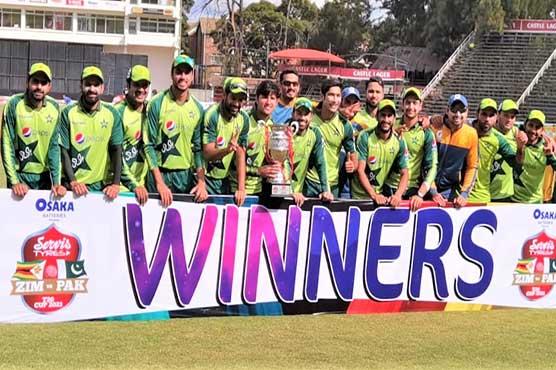 Pakistan beat Zimbabwe in third T20 to clinch series 2-1