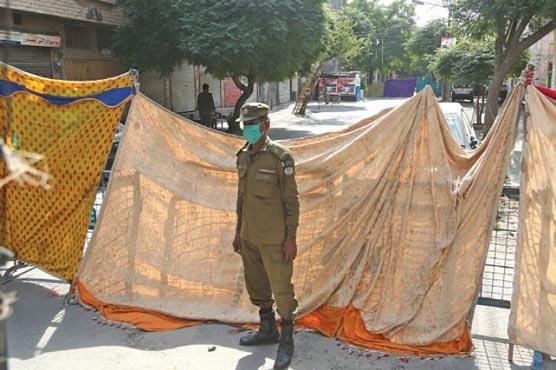 Smart lockdown imposed in 15 localities of Lahore