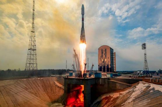 - 598984 88561762 - Russia launches new batch of UK telecom satellites into space – Technology