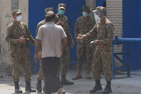Army deployed in 16 cities amid surge in Covid-19 cases: DG ISPR