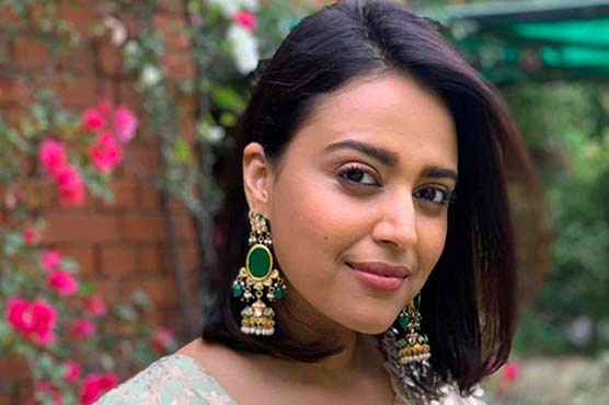 Indian actress Swara Bhasker thanks Pakistan for kindness and solidarity