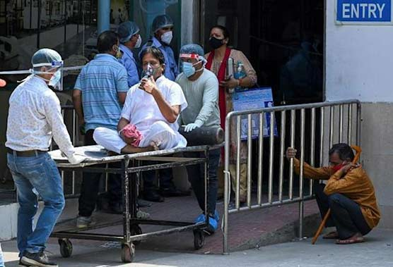 US aid arrives in India as Covid cases explode