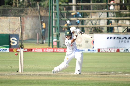 Pakistan in command of first Zimbabwe Test after fifties by Imran, Abid
