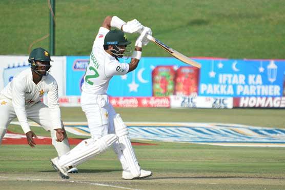 Pakistan batsmen grind on against Zimbabwe in first Test